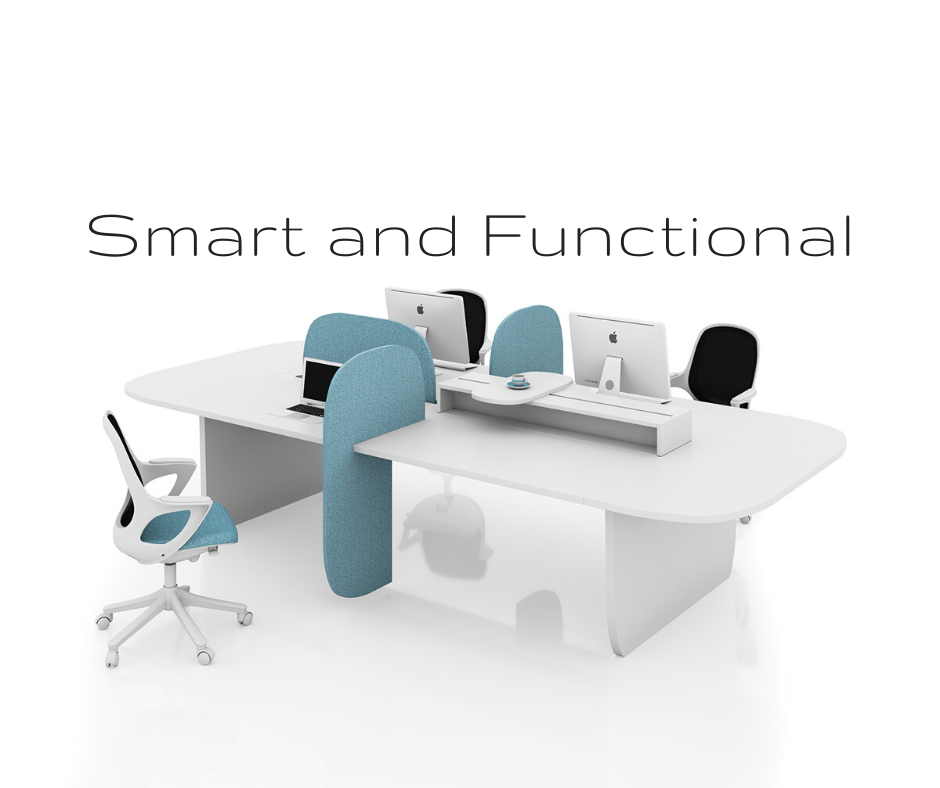 What is intelligent and functional furniture in your office?