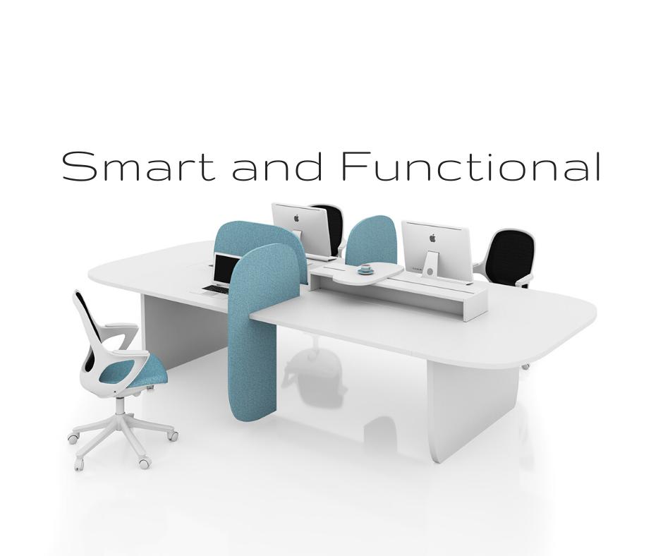 O que é o mobiliário inteligente e funcional no seu escritório?