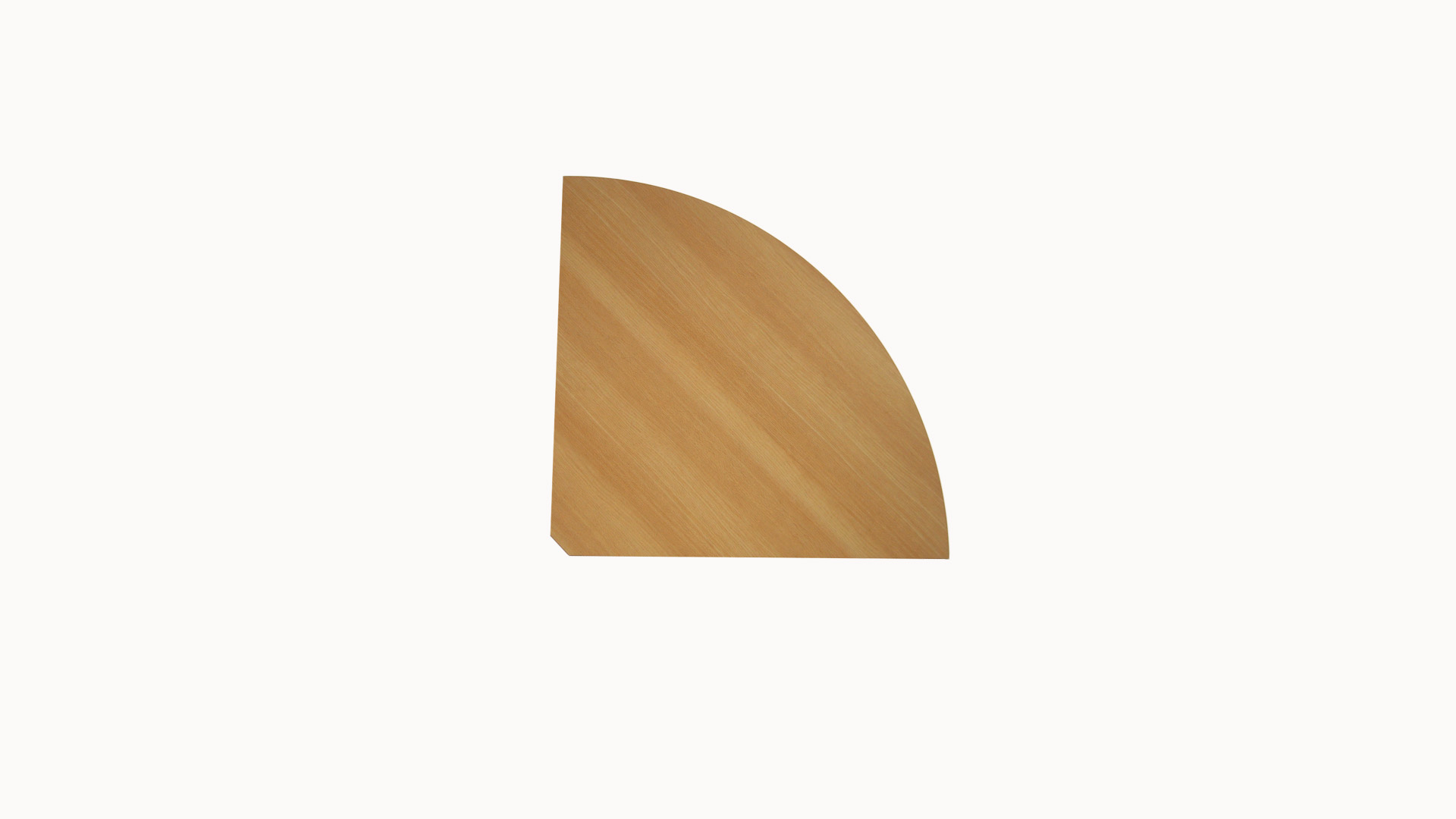 Curved Worktop 1/3